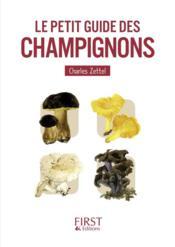 Le petit livre de - le petit guide des champignons - Couverture - Format classique