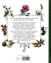 Atlas de la beauté au naturel - 4ème de couverture - Format classique