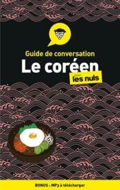 Guide de conversation coréen pour les nuls (2e édition) - Couverture - Format classique