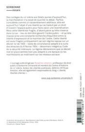 La liberté de manifestation ; du XIXe siècle aux Gilets jaunes - 4ème de couverture - Format classique