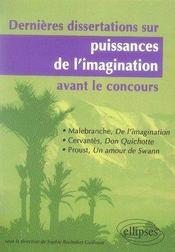Puissances de l'imagination t.2 ; malebranche, cervantès, proust - Intérieur - Format classique