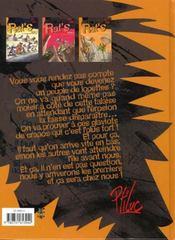 Rat's t.3 ; attention à la marche - 4ème de couverture - Format classique