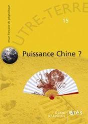 Outre-Terre T.15 ; Puissance Chine? - Couverture - Format classique