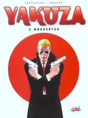 Yakuza t.2 ; Makusatsu - Intérieur - Format classique
