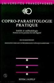 Copro - parasitologie pratique - Couverture - Format classique