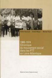 1900-1974, chronique du mouvement social dans les ptt en loire-atlantique - Intérieur - Format classique