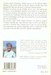 Parfumez votre maison - recettes anciennes de marie-tisane (édition 2005) - 4ème de couverture - Format classique