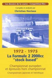 Formule 2 2000cc