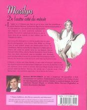 Marilyn, de l'autre cote du miroir - 4ème de couverture - Format classique