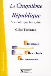 La cinquième République - Couverture - Format classique