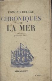 Chronique De La Mer - Couverture - Format classique