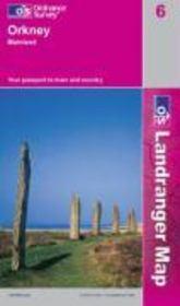 Orkney-Mainland 1/50 000 - Couverture - Format classique