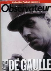 Le Nouvel Observateur - Collection Portrait - De Gaulle - Couverture - Format classique