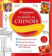 15 minutes par jour pour se mettre au chinois - Couverture - Format classique
