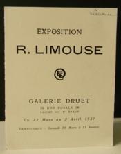 Exposition R. Limouse. - Couverture - Format classique