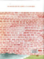 Le bon côté du mur - 4ème de couverture - Format classique