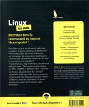 Linux pour les nuls (13e édition) - 4ème de couverture - Format classique