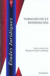 Normativite Et Biomedecine - Intérieur - Format classique