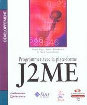 Programmer Avec La Plateforme J2me - Intérieur - Format classique