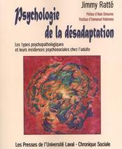 Psychologie De La Desadaptation - Intérieur - Format classique
