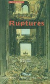 Ruptures de la discontinuite dans la vie artistique - Couverture - Format classique