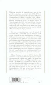 Lettres à Anna - 4ème de couverture - Format classique