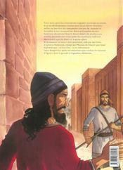 Sur les terres d'Horus t.5 ; Kheti ou l'amour de Ninmah - 4ème de couverture - Format classique
