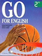 Go for english 2nde (afrique centrale) - Couverture - Format classique
