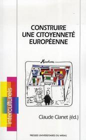 Construire une citoyenneté européenne - Intérieur - Format classique
