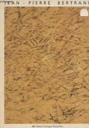 Jean-pierre bertrand - Couverture - Format classique