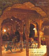 Rajasthan - Delhi - Agra, art de vivre indo-musulman (un) - Couverture - Format classique