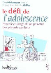 Defi de l'adolescence (le) - Intérieur - Format classique
