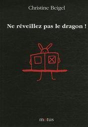 Ne réveillez pas le dragon ! - Couverture - Format classique