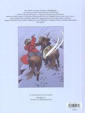 Les tribulations de rosso stenton t.2 ; aventure en mandchourie - 4ème de couverture - Format classique
