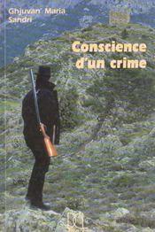 Conscience D'Un Crime - Intérieur - Format classique