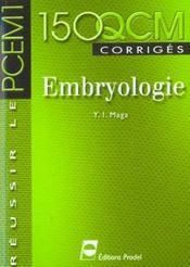 Embryologie Reussir Le Pcem1 - Intérieur - Format classique