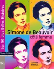 Simone de Beauvoir, cote femme - Couverture - Format classique