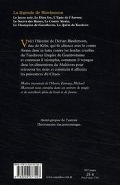 La légende de Hawkmoon - 4ème de couverture - Format classique