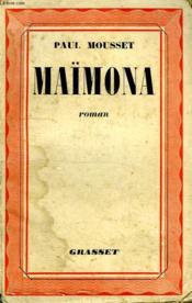Maimona. - Couverture - Format classique