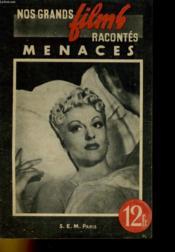 Nos Grands Films Racontes - Menaces - Couverture - Format classique
