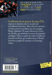Le livre des etoiles (tome 1-qadehar le sorcier) - 4ème de couverture - Format classique