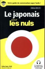 Le japonais pour les nuls (édition 2018/2019) - Couverture - Format classique