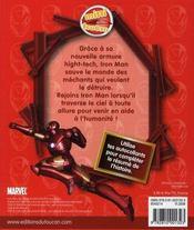 Iron Man ; un nouveau héros - 4ème de couverture - Format classique