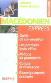 Macedonien Express - Couverture - Format classique