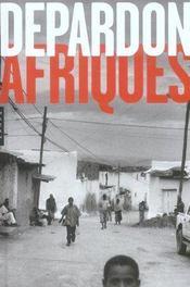 Depardon ; afriques - Intérieur - Format classique