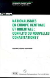 Nationalismes En Europe Centrale - Couverture - Format classique