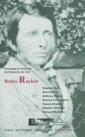 Relire Ruskin - Couverture - Format classique