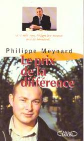 Prix De La Difference - Couverture - Format classique