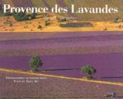 Provence des lavandes - Couverture - Format classique