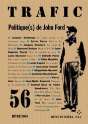 Revue Trafic N.56 - Couverture - Format classique